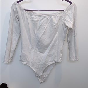 Off-shoulder bodysuit